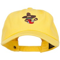 Embroidered Cap - Pepper with Maracas Embroidery Cap