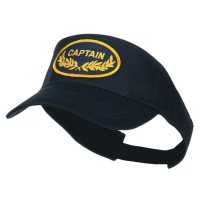 Visor - Navy Captain Military Patched Sun Visor