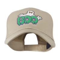 Embroidered Cap - Ghost Boo Embroidered Cap | Free Shipping | e4Hats.com