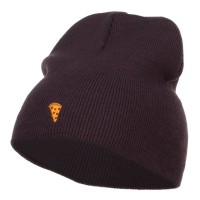 Beanie - Mini Pizza Embroidered Beanie