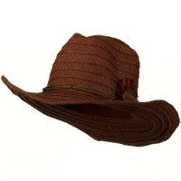 Western - Woman's Paper Wired Cowboy Hat | Free Shipping | e4Hats.com