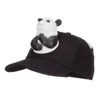 Ball Cap - Black Panda Costume Ball Cap