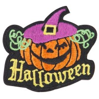 Patch - Halloween with Pumpkin Patches | Free Shipping | e4Hats.com