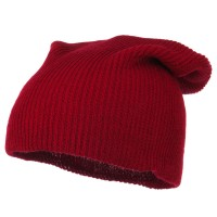 Beanie - Plain Deep Shell Knit Beanie | Free Shipping | e4Hats.com