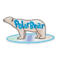 Patch - Beige Polar Bear Patches