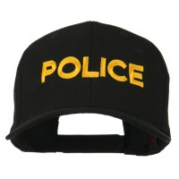 Embroidered Cap - Police Embroidered High Cap   Free Shipping   e4Hats.com