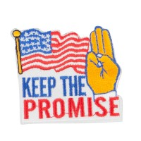 Patch - USA Keep the Promise Patches