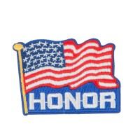 Patch - Proud American Flag Patches