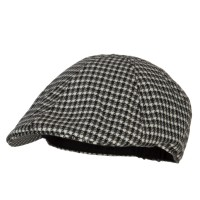 Newsboy - Patterned Houndstooth Ivy Cap   Free Shipping   e4Hats.com