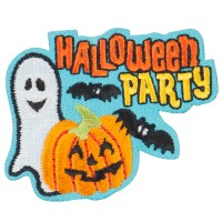 Patch - Halloween Party Patches | Free Shipping | e4Hats.com