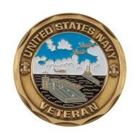 Coin, Medallion - Silver Proudly Proud To Be U.S. Navy Coin