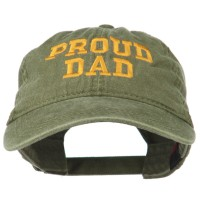 Embroidered Cap - Proud Dad Embroidered Cap | Free Shipping | e4Hats.com