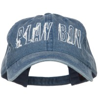 Embroidered Cap - Playboy Embroidered Washed Cap