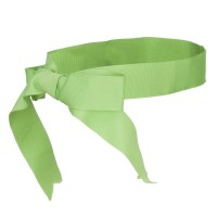 Band - Lime Ribbon Bow Hat Band