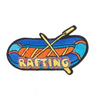 Patch - Rafting Embroidered Patches