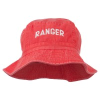 Bucket - Red Ranger Embroidered Bucket Hat