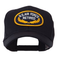 Embroidered Cap - Air Force Retired Embroidered Patch Cap