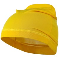 Wrap - Gold Yellow Real Fit Spandex Cap