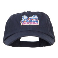 Embroidered Cap - Roller Skating Patched Low Cap | Free Shipping | e4Hats.com