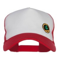 Embroidered Cap - Trainer Red Embroidered Cap | Free Shipping | e4Hats.com