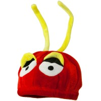 Costume - Red Yellow Red Yellow Velvet Birds Hat