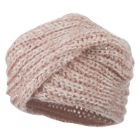 Wrap - Blush Women's Sequin Acrylic Turban