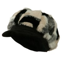 Newsboy - Faux Fur Suede Bill Hat | Free Shipping | e4Hats.com