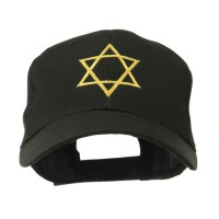 Embroidered Cap - Star of David Embroidered Cap | Free Shipping | e4Hats.com
