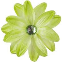 Band - Lime Sunflower Hair Clip