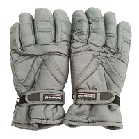 Glove - Grey Water Repellent Polar Ski Glove