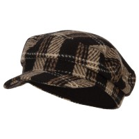 SS//Hat Corduroy Greek Fisherman Captain Cap with Rope