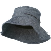 Bucket - Blue Women's Stitching Bucket Hat