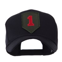 Embroidered Cap - 1st US Army Small Patch Cap