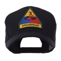 Embroidered Cap - 3rd US Army Small Patch Cap