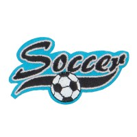Patch - Soccer Embroidered Patches