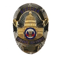 Patch - Security Stock Metal Badges | Free Shipping | e4Hats.com
