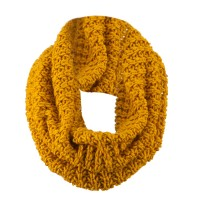 Warmer - Mustard Solid Thick Ribbed Neck Warmer