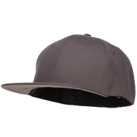 Ball Cap - Grey Big Size Stretchable Fitted Cap