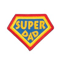 Patch - Super Dad Family Patches