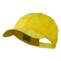 Ball Cap - Gold 6 Panel Tie Dye Cap
