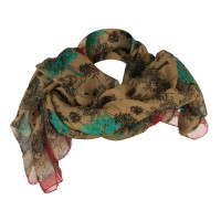 Scarf, Shawl - Tree Deer Summer Scarf | Free Shipping | e4Hats.com