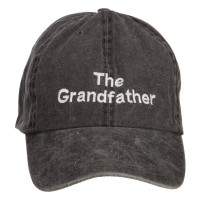 Embroidered Cap - Grandfather Embroidered Big Cap | Free Shipping | e4Hats.com