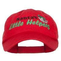 Embroidered Cap - Santa's Little Helpers Embroidered Cap | Free Shipping | e4Hats.com