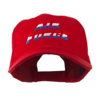 Embroidered Cap - Red Color Air Force Embroidered Cap