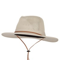 Fedora - Men's Mesh Crown Fedora Hat | Free Shipping | e4Hats.com