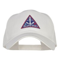 Embroidered Cap - Boating Anchor Patched Cap | Free Shipping | e4Hats.com