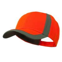 Ball Cap - Orange Reflector Two Tone Ball Cap