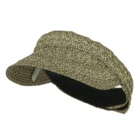Visor - Black Tweed Toyo UPF 50+ Braided Visor