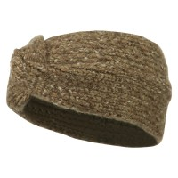 Band - Cocoa Ladies Twisted Knit Earband