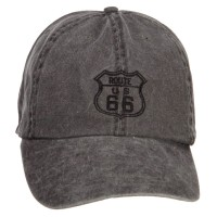 Embroidered Cap - US Route 66 Embroidered Big Cap